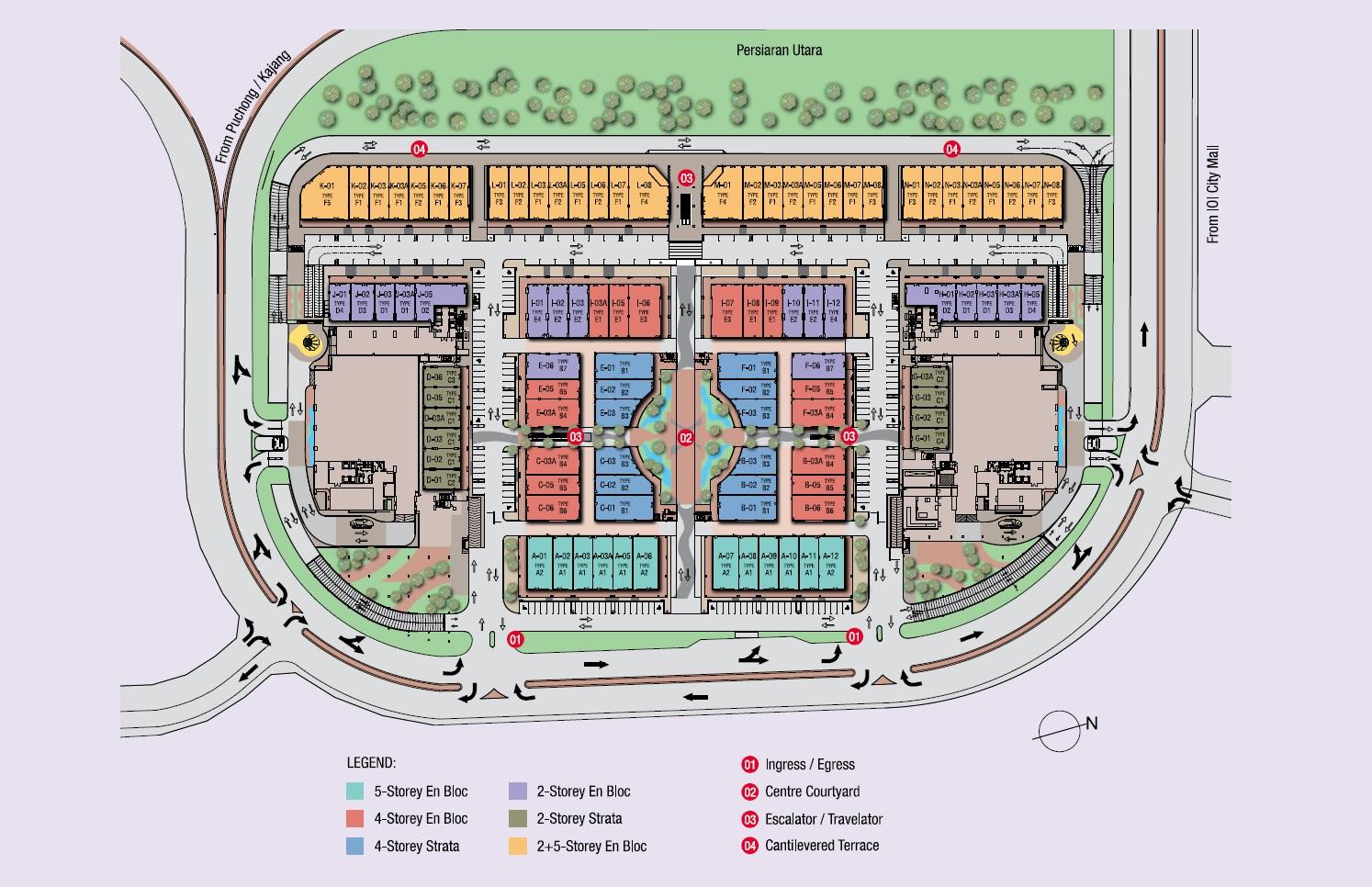 Site Plan of Conezión