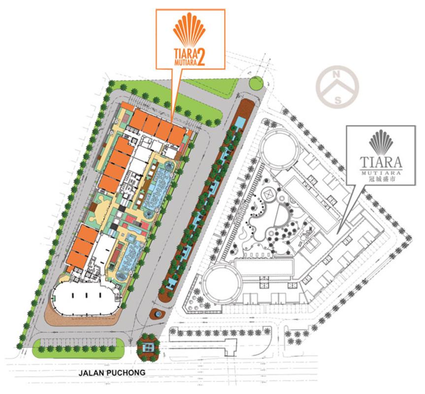 Master Plan of Tiara Mutiara 2