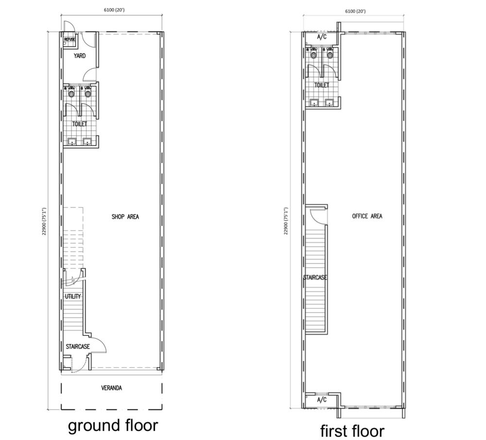 Greenwoods @ Salak Perdana Greenwoods Belian Type A1 & A2 Floor Plan