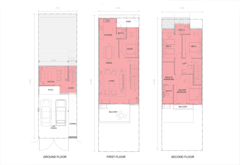 Taman Titi Heights Clove Floor Plan