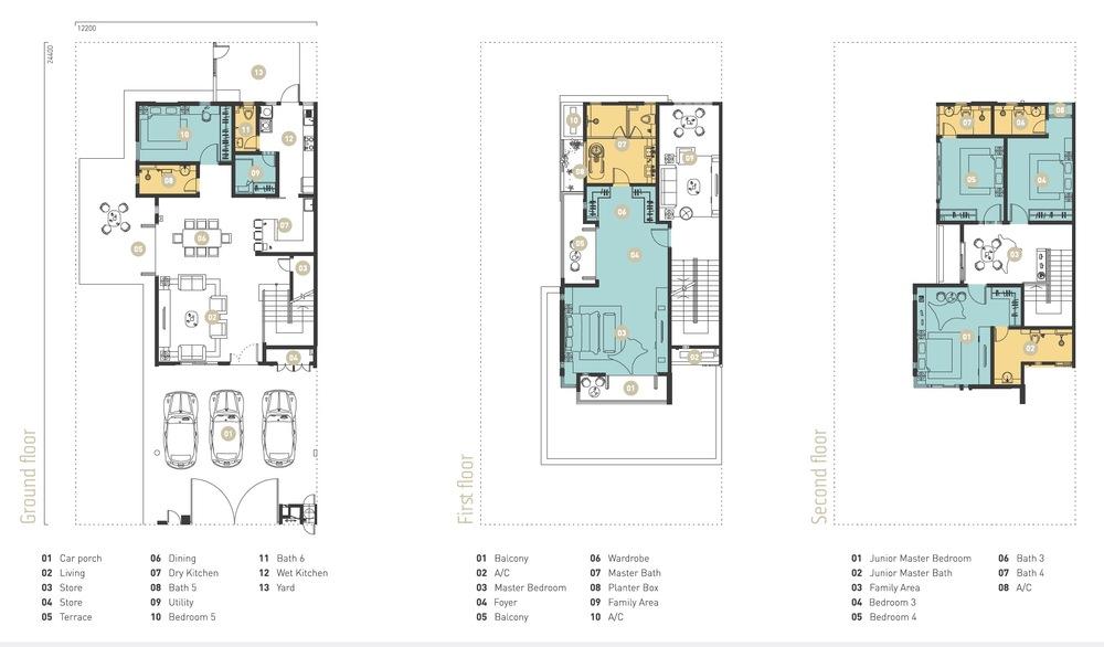 Murfree Zircon Floor Plan
