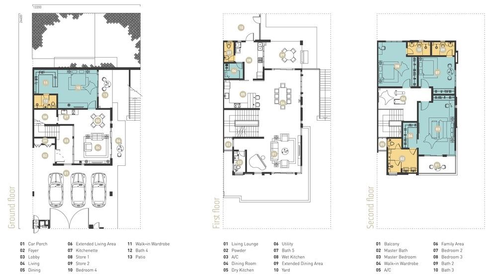 Murfree Crest Floor Plan