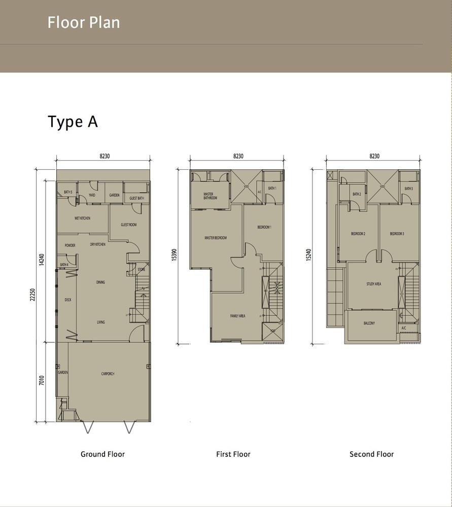 Sierra 6 Type A Floor Plan