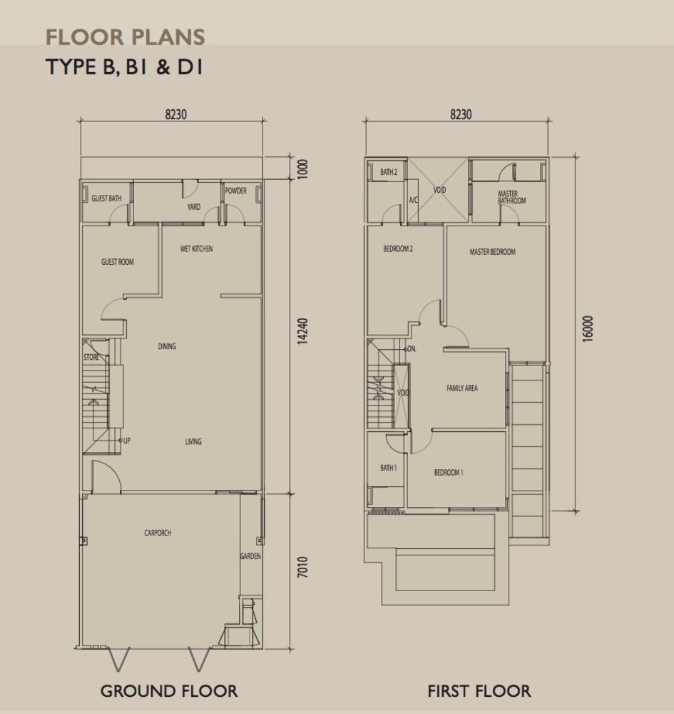 Sierra 6 Type B Floor Plan