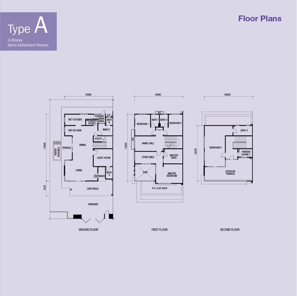 Akira Type A Floor Plan