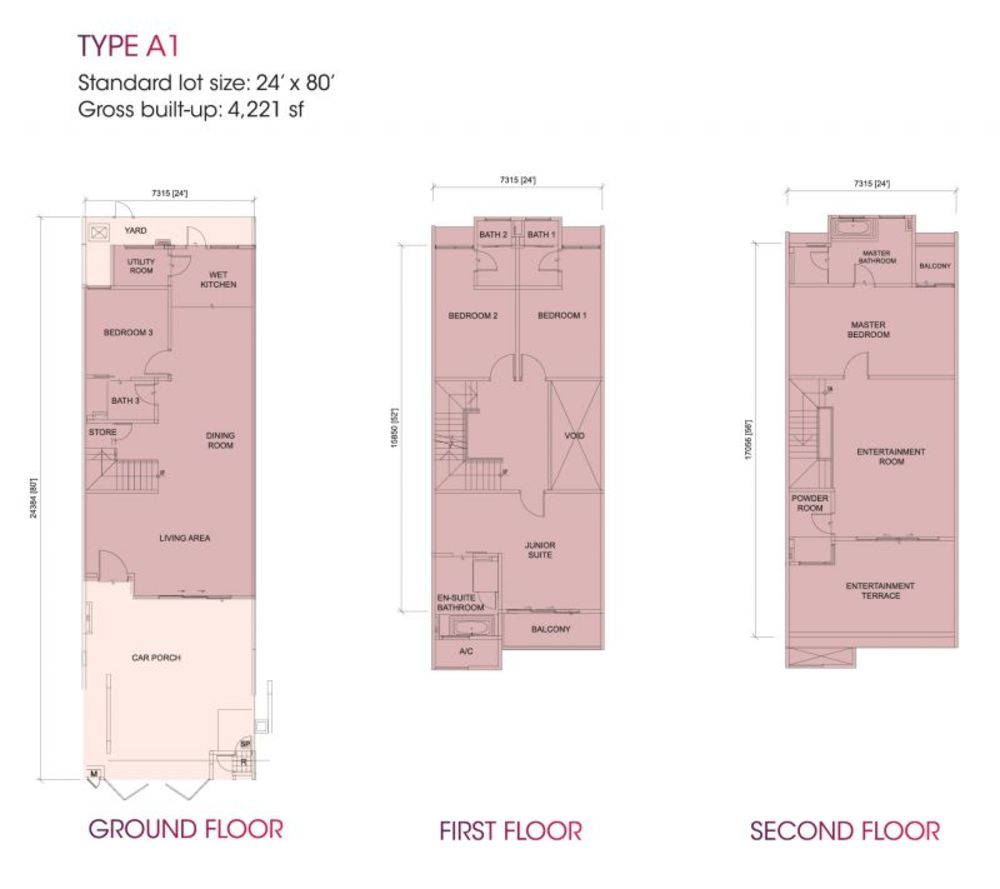 Dumalis Typical Unit Floor Plan