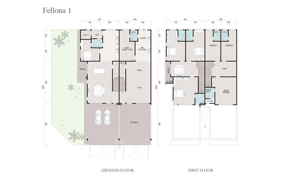 Fellona Fellona 1 Floor Plan