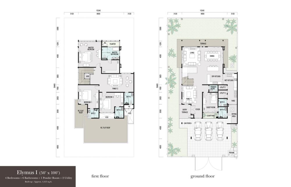 Elymus Elymus 1 Floor Plan