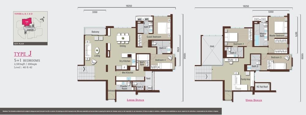 Vivo Residential @ 9 Seputeh Type J Floor Plan