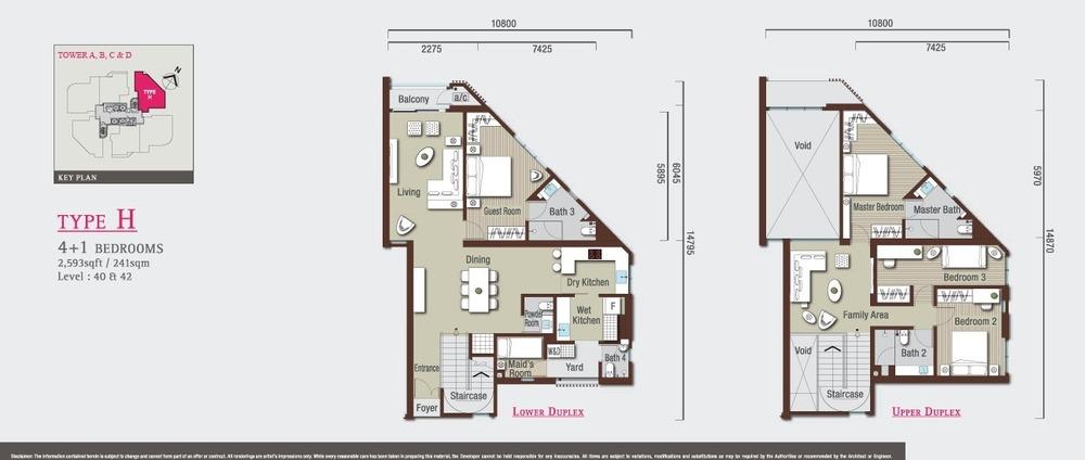 Vivo Residential @ 9 Seputeh Type H Floor Plan