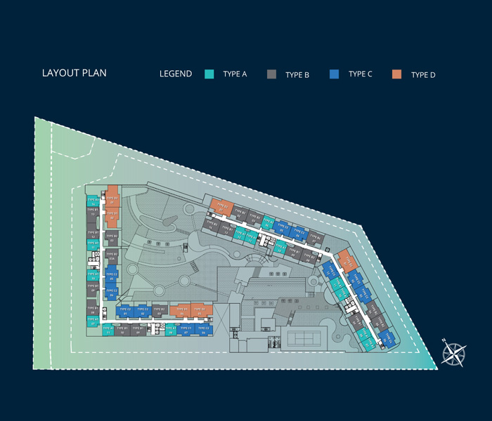 Site Plan of 8scape
