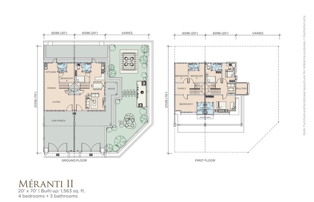 Méranti Méranti II Floor Plan