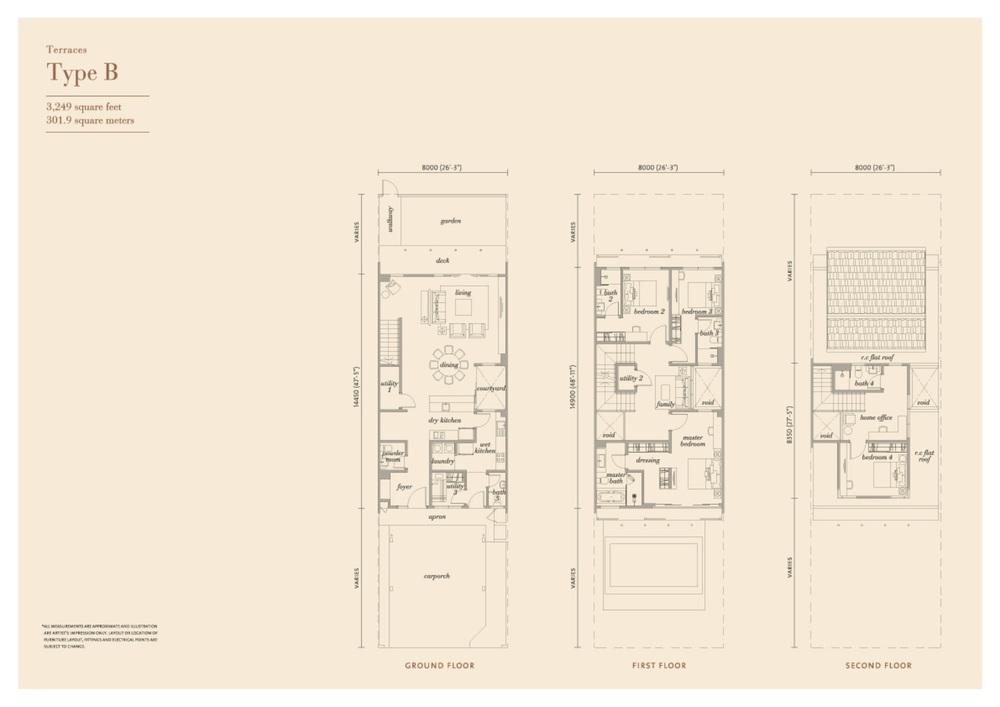 Senja Type B Floor Plan