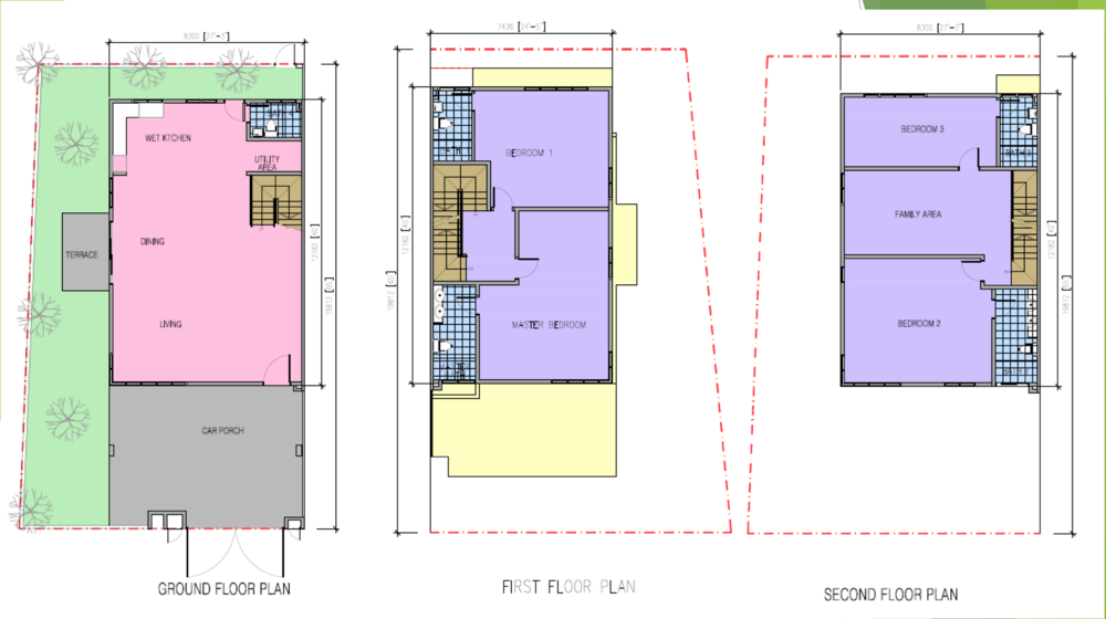 Kazen @ Taman Saujana Puchong Type D Floor Plan