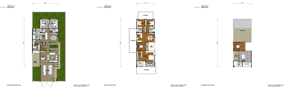 The Enclave Phase 2 - Zephyr Floor Plan