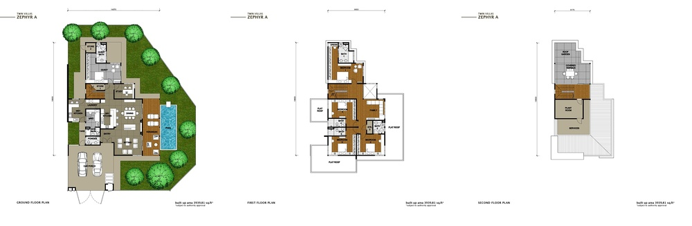 The Enclave Phase 2 - Zephyr A Floor Plan