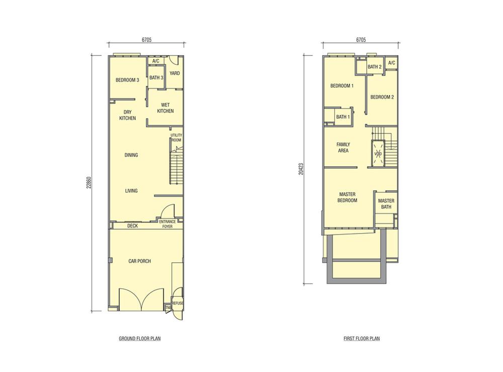 Avens Typical Unit Floor Plan
