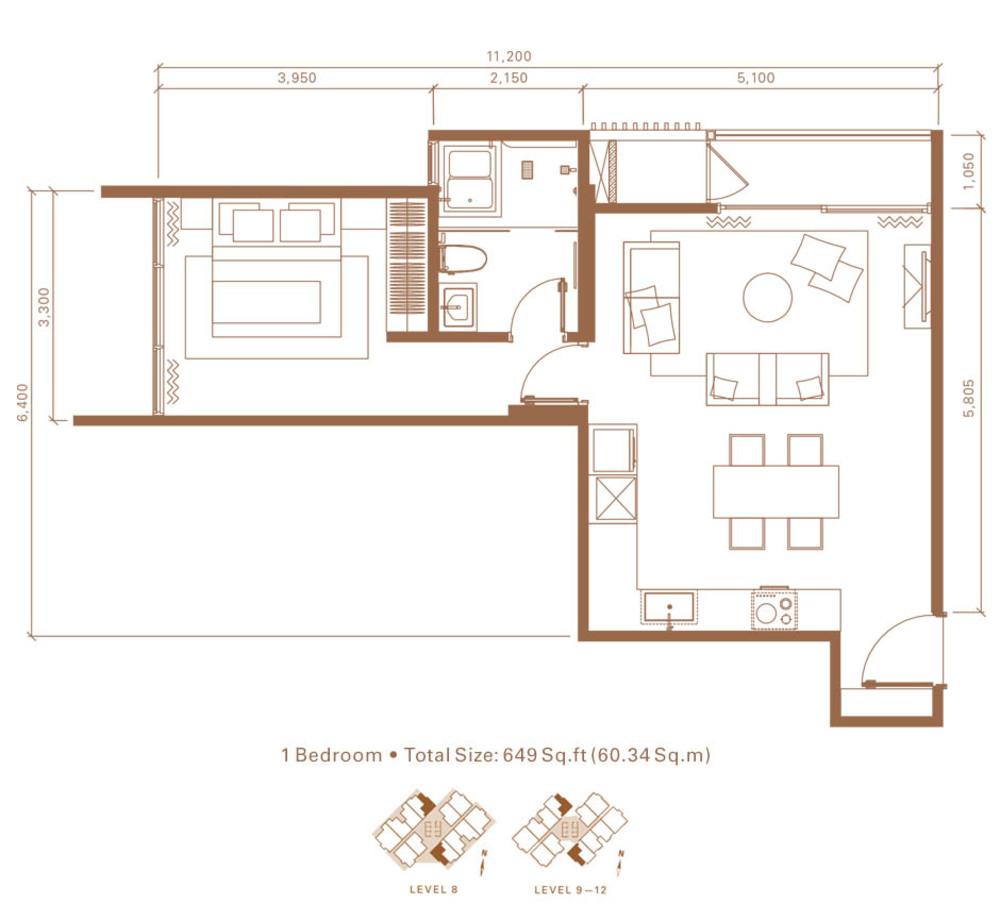 Stonor 3 Type A Floor Plan