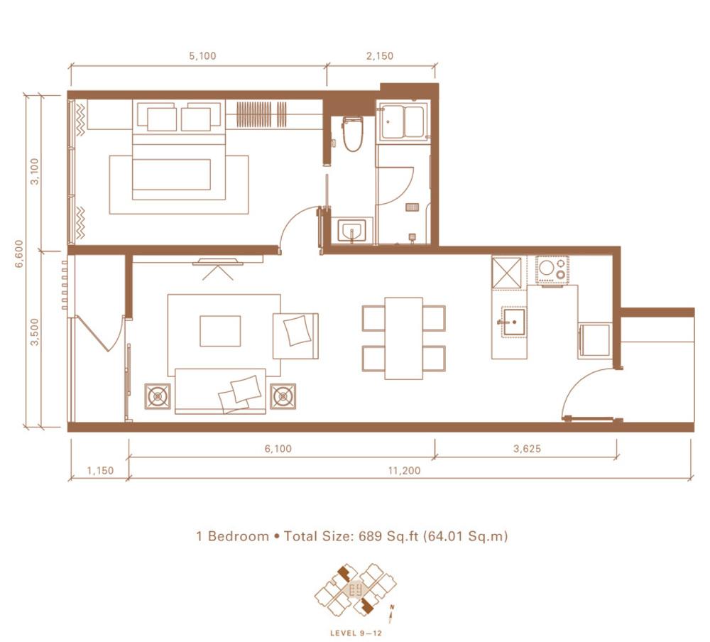 Stonor 3 Type B Floor Plan
