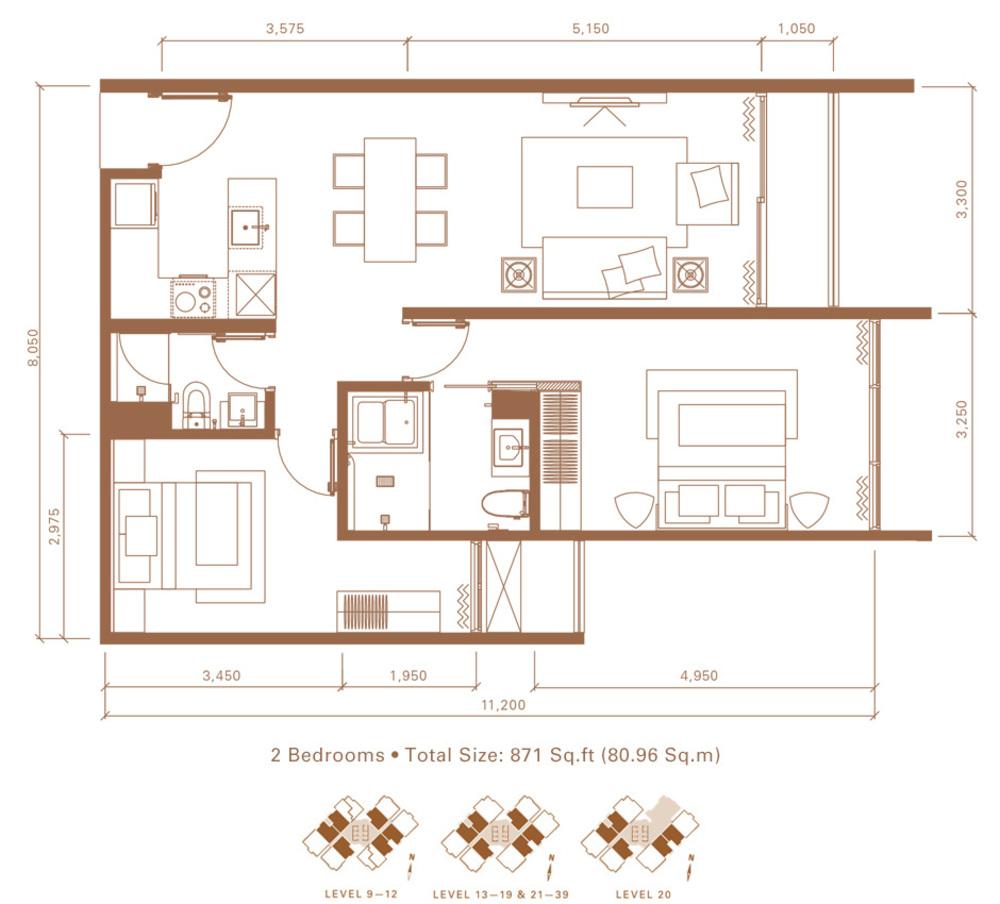 Stonor 3 Type C Floor Plan