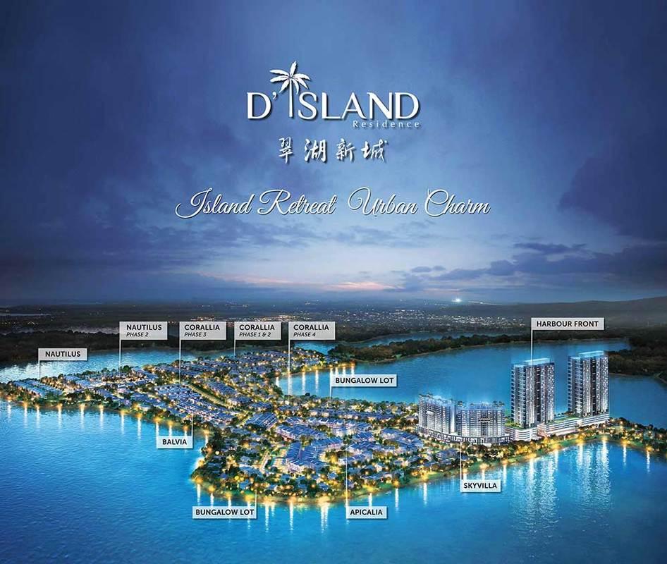Master Plan of Skyvilla @ D'Island