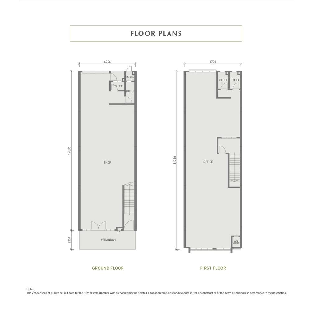 Eco Business Park I Shop Office Floor Plan