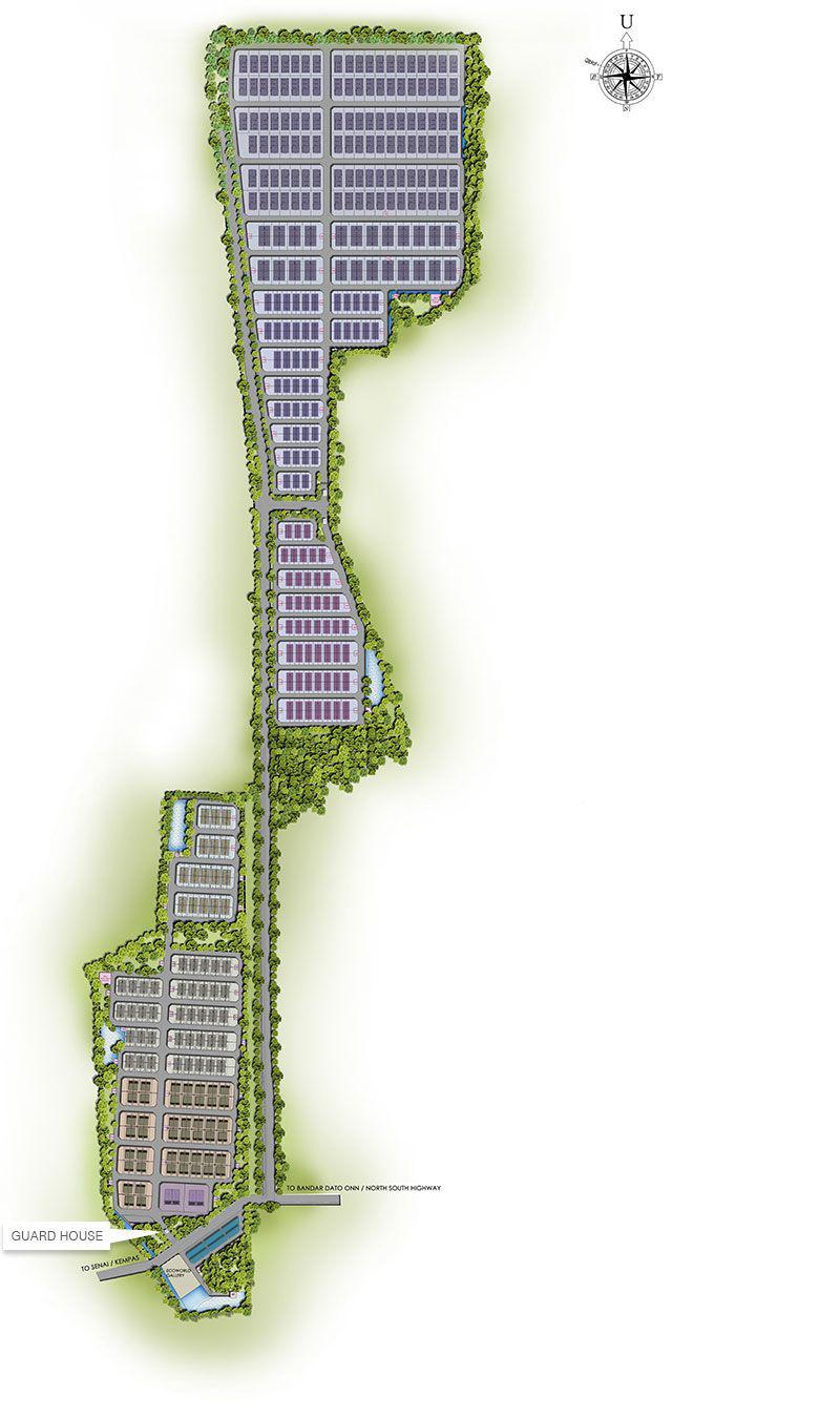 Site Plan of Eco Business Park I