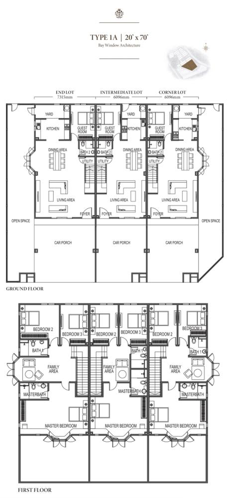 Eco Meadows Type 1A Floor Plan