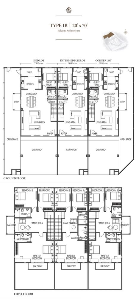 Eco Meadows Type 1B Floor Plan