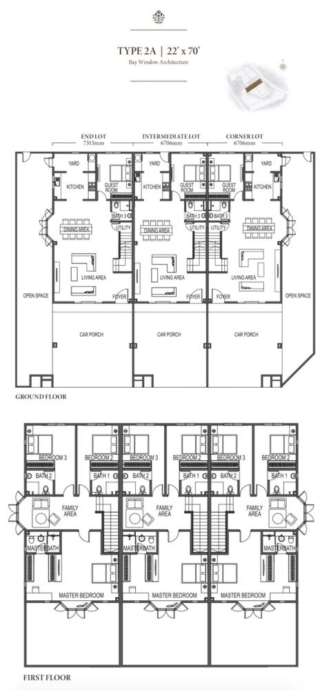 Eco Meadows Type 2A Floor Plan