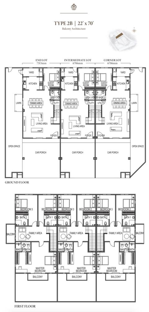 Eco Meadows Type 2B Floor Plan