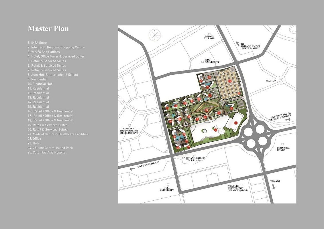 Master Plan of Aspen Vision City