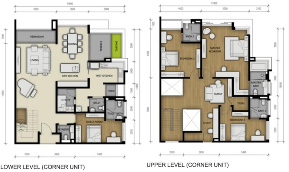 280 Park Homes Type A1 Floor Plan