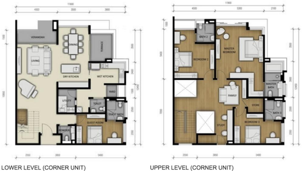 280 Park Homes Type A2 Floor Plan