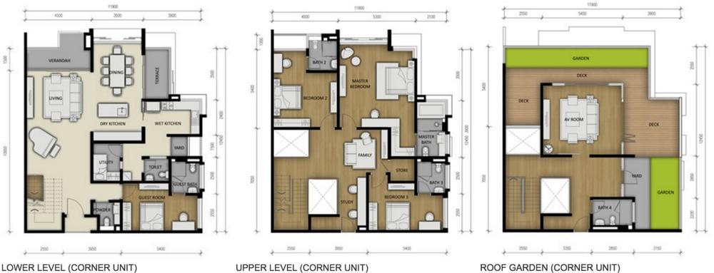 280 Park Homes Type A3 Floor Plan