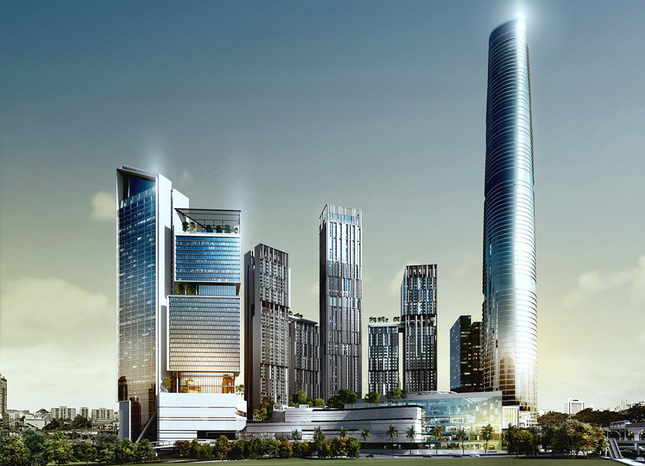 Pudu integrated project house office for sale bbcc signature tower