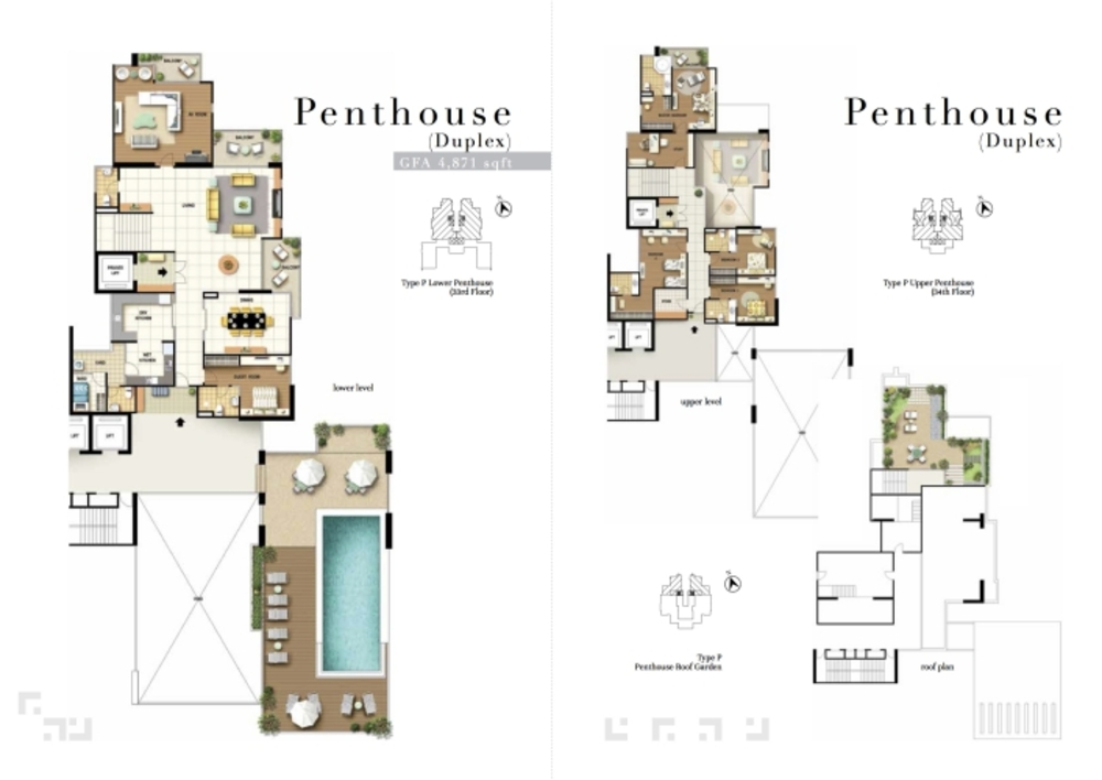 The Turf Penthouse Floor Plan