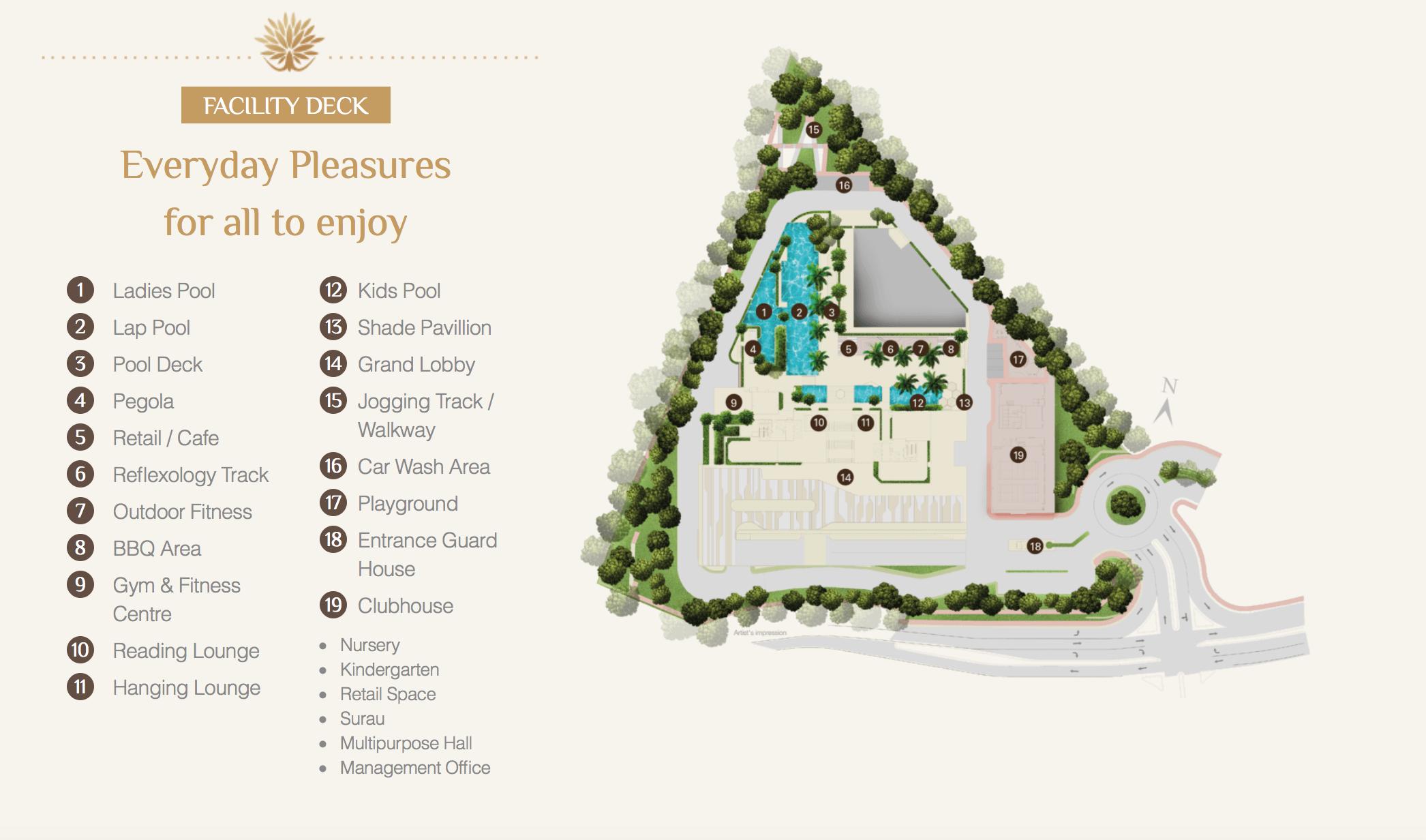 Site Plan of Setia Seraya Residences