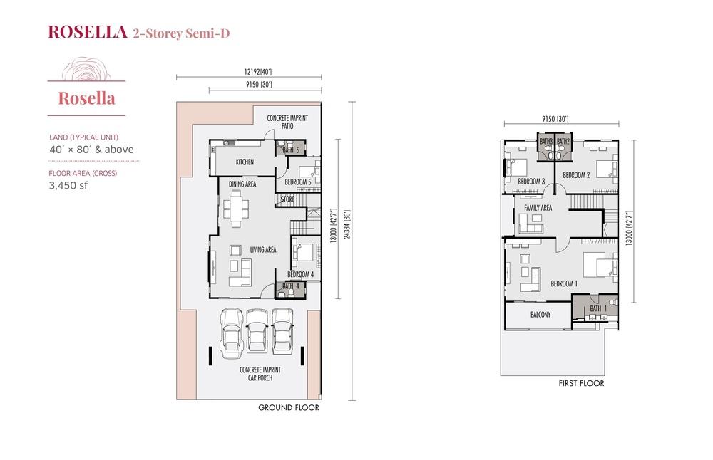 Roseville Rosella Floor Plan