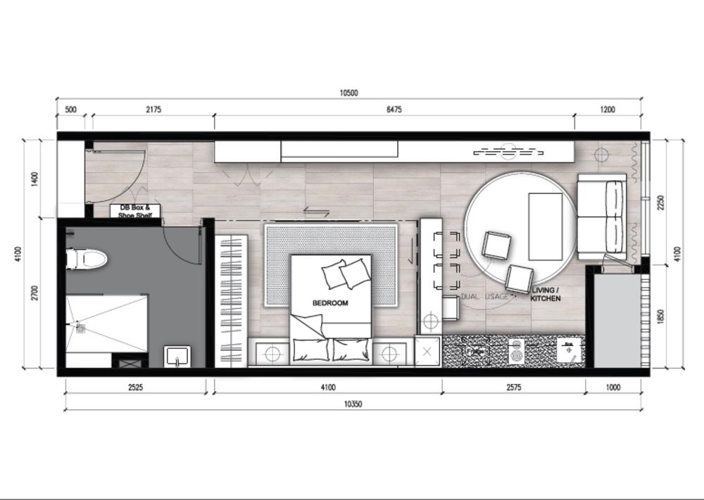 The Apple Type D Floor Plan