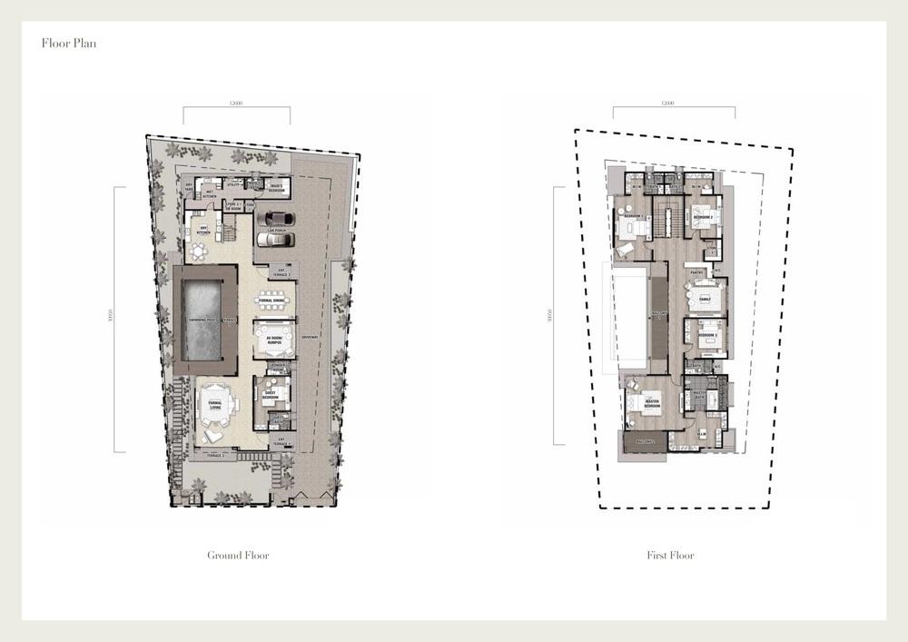 Seri Beringin Villa 4 Floor Plan