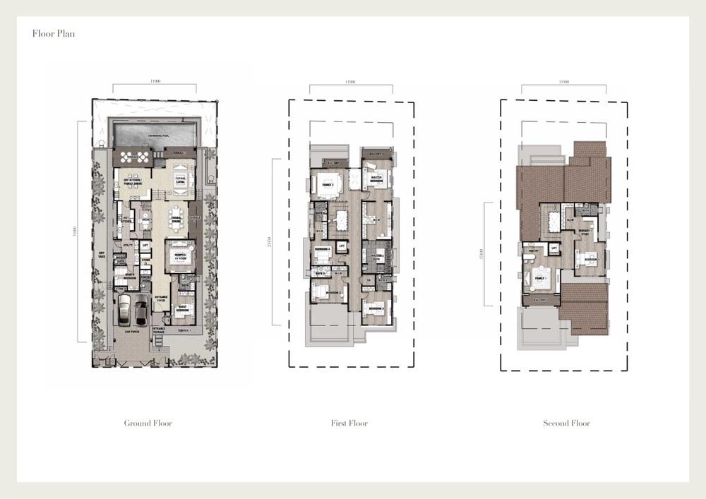 Seri Beringin Villa 5 Floor Plan