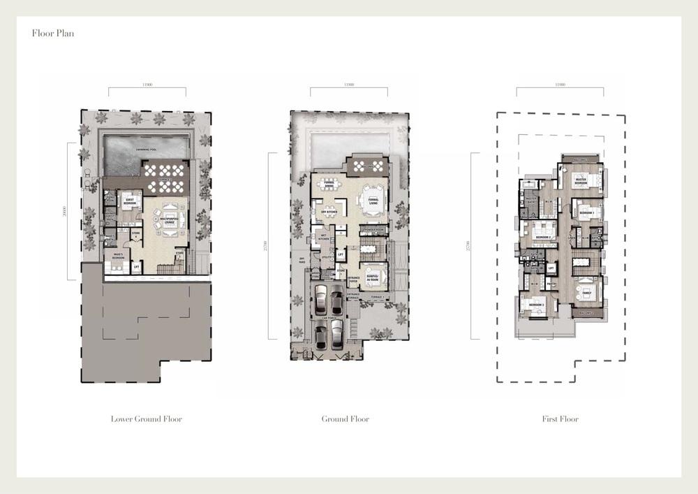 Seri Beringin Villa 6 Floor Plan