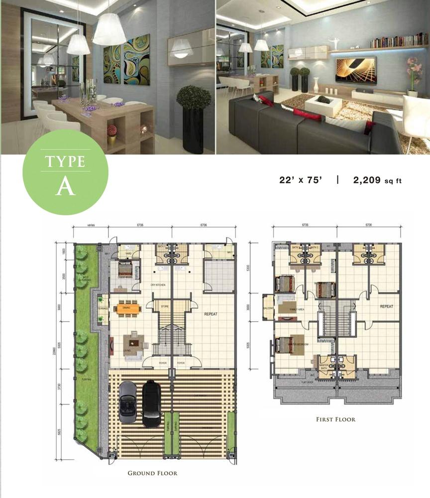 Jade Type A Floor Plan