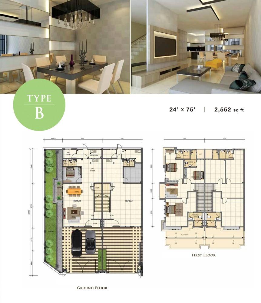 Jade Type B Floor Plan