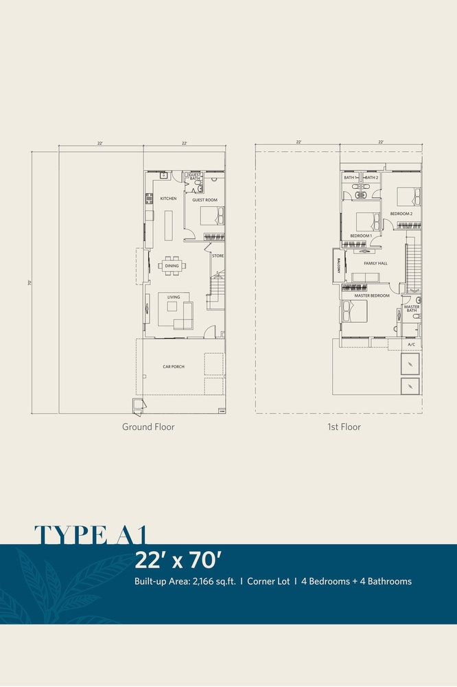 CasaView @ Cybersouth Type A1 Floor Plan