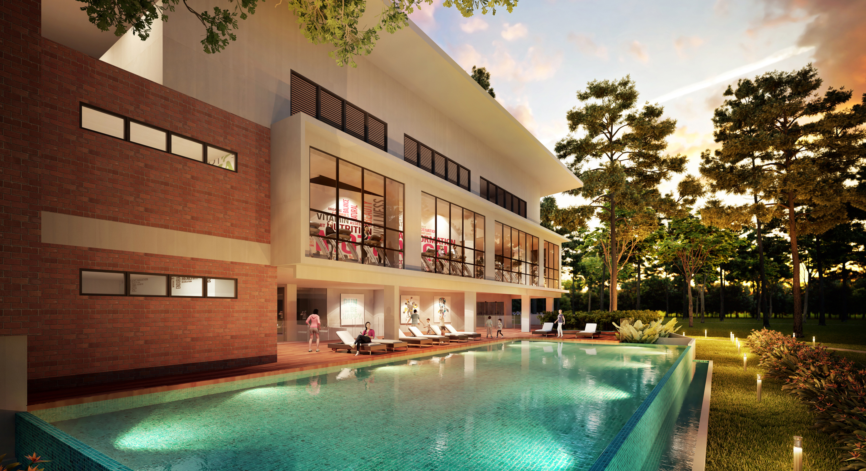 Dengkil cybersouth house for sale bellevue clubhouse