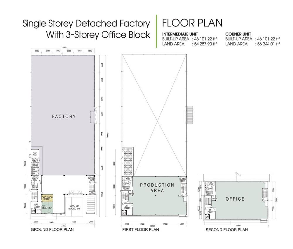 District 6 @ SiLC Standard Unit Floor Plan
