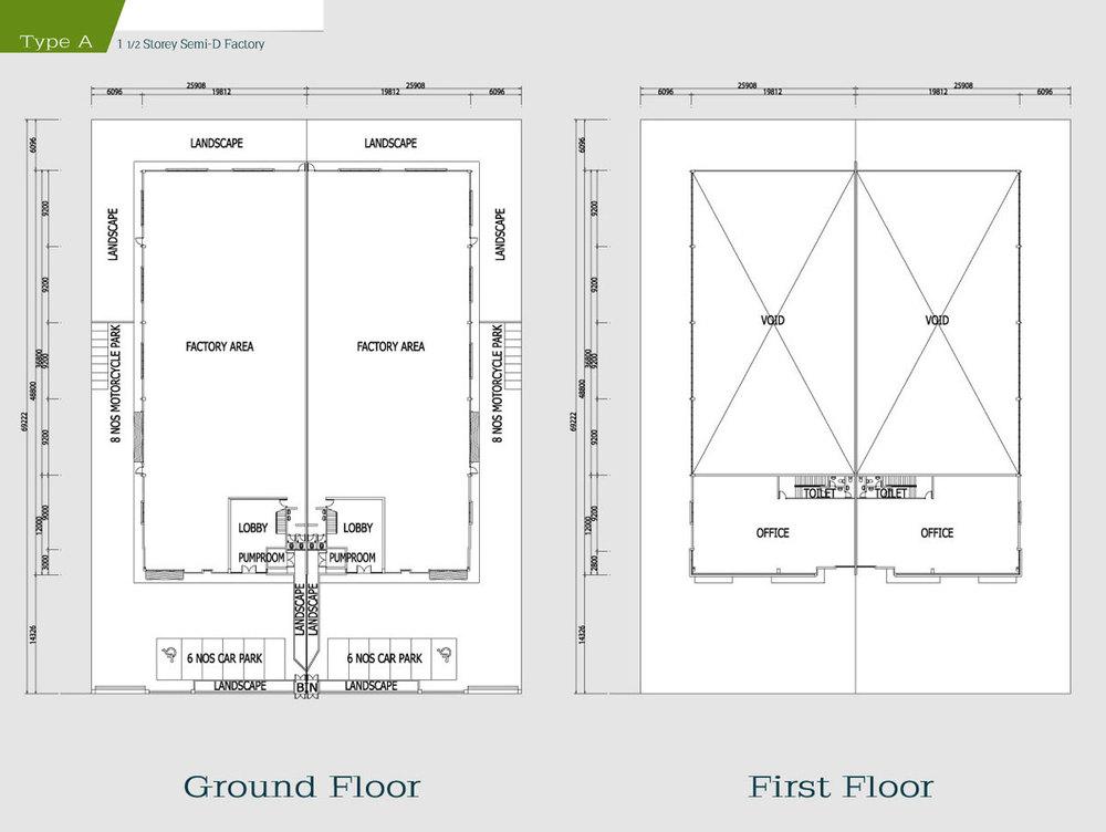 i-Park @ SiLC Type A Floor Plan