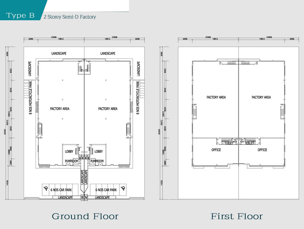 i-Park @ SiLC Type B Floor Plan